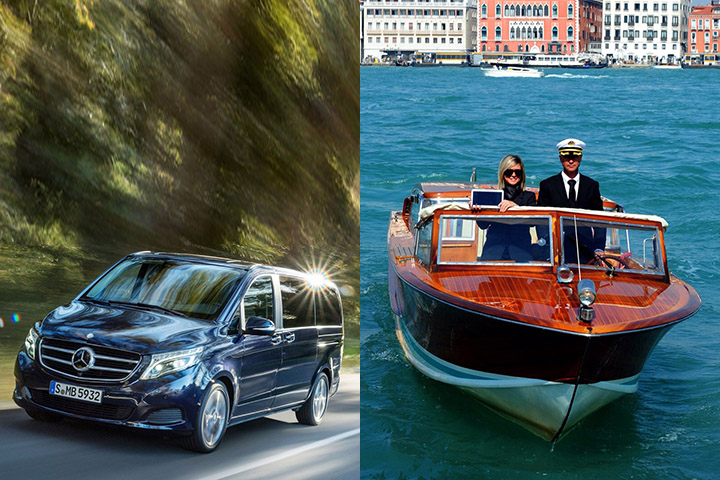 Book your Venice taxi transfer online