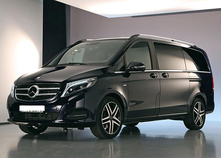 mercedes minivan lusso transfer