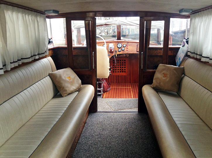 Premium Water Taxi - interior